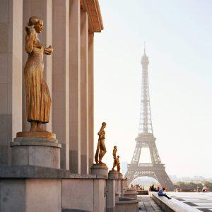 Wieża Eiffla z Trocadéro